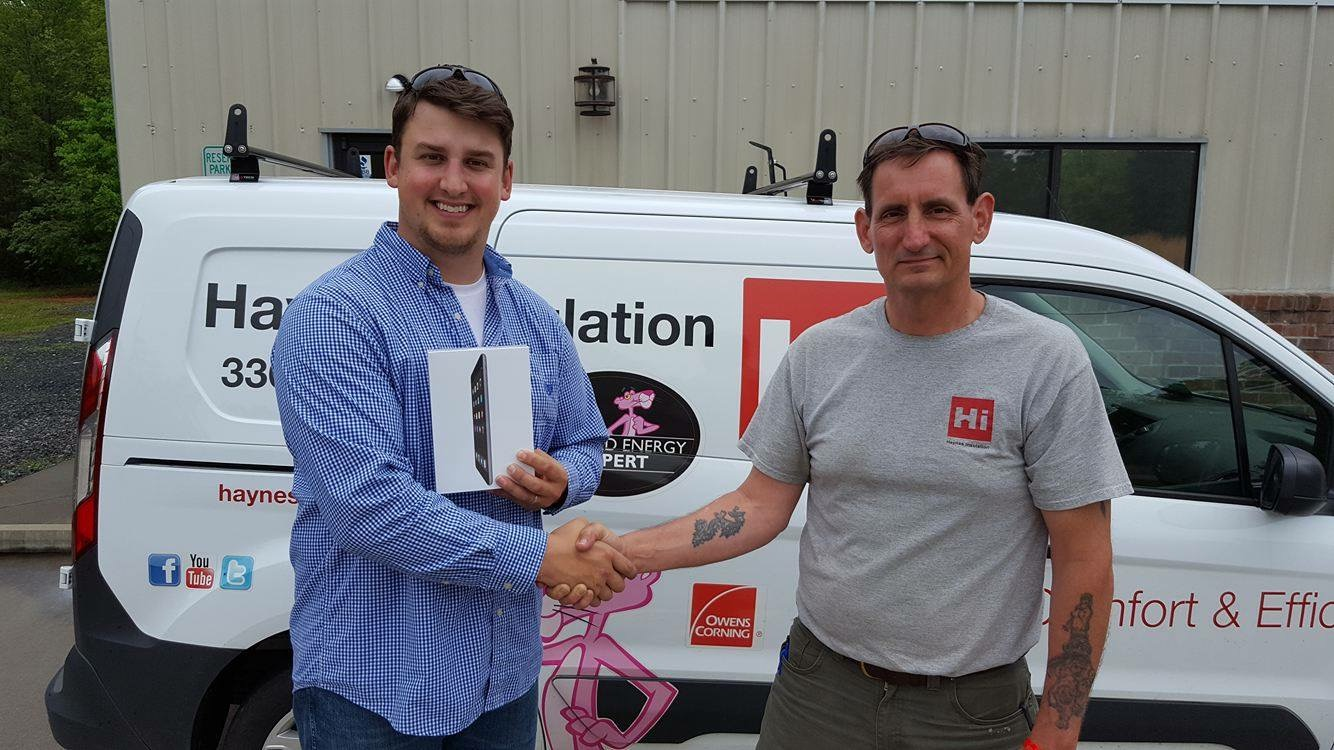 Congrats Nathan! We hope you are enjoying your new iPad!